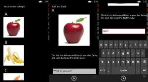 Spell and Speak for Windows Phone 8