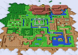 ALttP-Light-World-Map