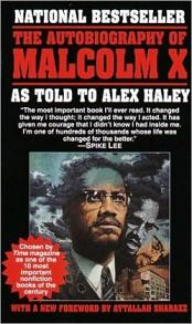 Malcolm X book cover